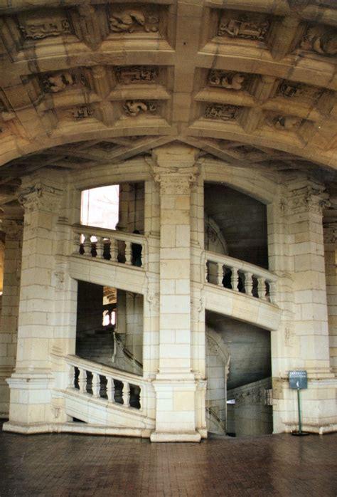 photographie de l escalier 224 r 233 volution du ch 226 teau de chambord