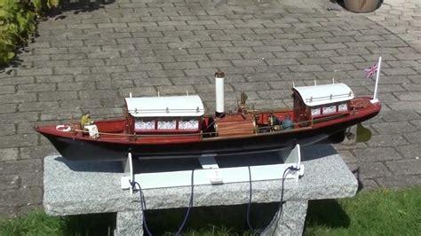 Model Steam Boat Youtube by Steam Model Boat Miranda Thames Youtube