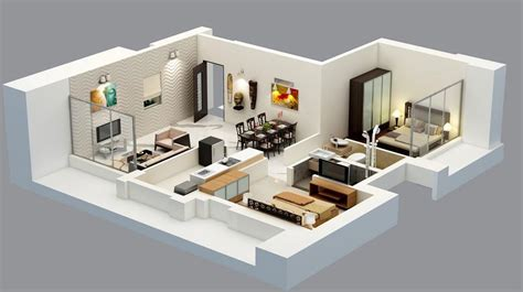 2 Bhk Home Design In India : 2 Bedroom House Design