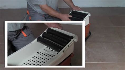 bac de lavage de joint de carreleur easy de raimondi