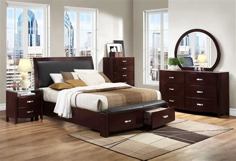 Homelegance Lyric Platform Bedroom Set-dark Espresso