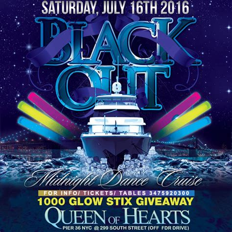 Midnight Boat Party Nyc by Nyc Boat Party Midnight Glow In The Dark Cruise Queen Of