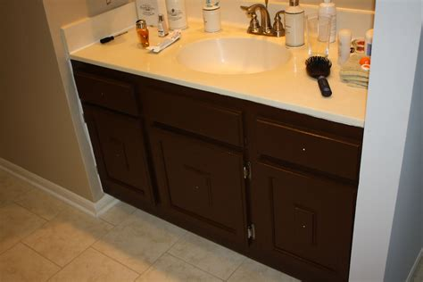 Painting Bathroom Cabinets (what Not To Do Cobalt Blue Kitchen Sink How To Remove A Faucet Mixer Unclog Grease Farmhouse Style Clogged Remedies Brushed Stainless Steel Undermount Ratings