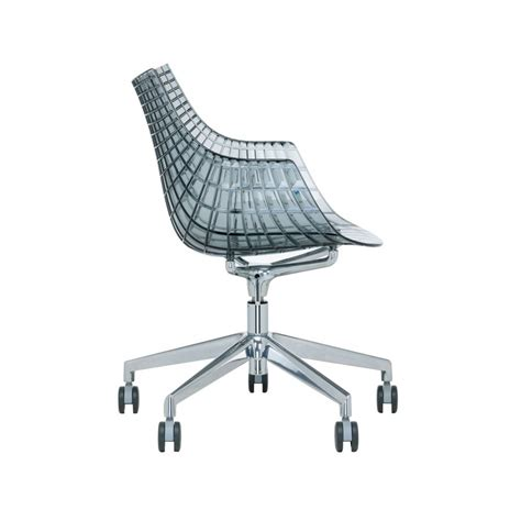 fauteuil 224 roulettes driade meridiana design christophe pillet
