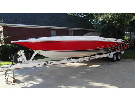 35 Ft Fountain Boats For Sale by 2007 Fountain 35 Executioner Powerboat For Sale In South