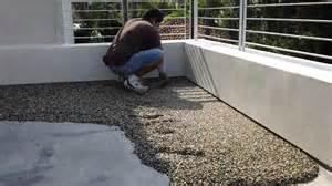 pebbletec floor system installation by designs