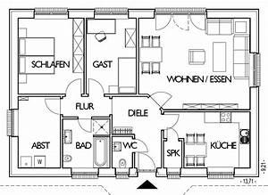 Grundriss Bungalow 100 Qm : grundriss einfamilienhaus 100 qm die neuesten innenarchitekturideen ~ Markanthonyermac.com Haus und Dekorationen