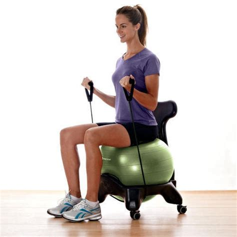 balance chair ergonomic exercise from gaiam americas