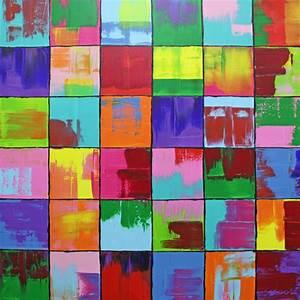 Bilder Auf Leinwand Kaufen : bild gem lde bunt abstrakt malerei von michael pfannschmidt bei kunstnet ~ Markanthonyermac.com Haus und Dekorationen