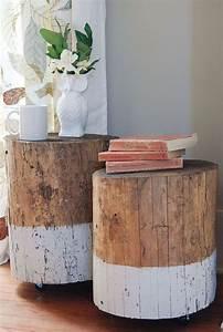 Dip Dye Selber Machen : dip dye stump table m bel selber machen schlafzimmer ideen und m bel ~ Markanthonyermac.com Haus und Dekorationen
