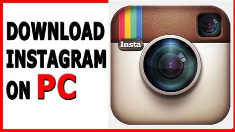 How To Download/install Instagram On Pc/laptop Windows 7,8