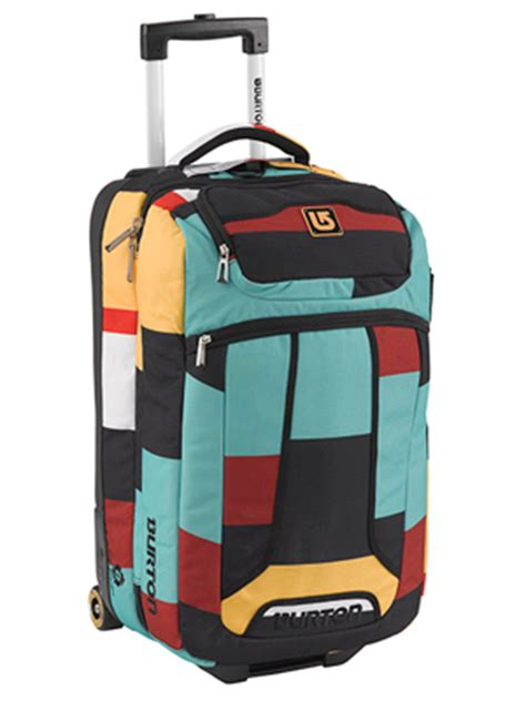 burton wheelie flight deck carry on luggage review
