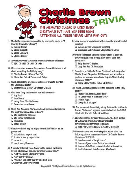 Christmas Trivia Games  Charlie Brown Christmas, Charlie Brown And Trivia