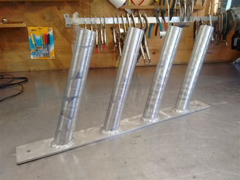 Homemade Fishing Rod Storage For Boats by Fishing Rod Holder Boat Rod Holder Aluminum Rod