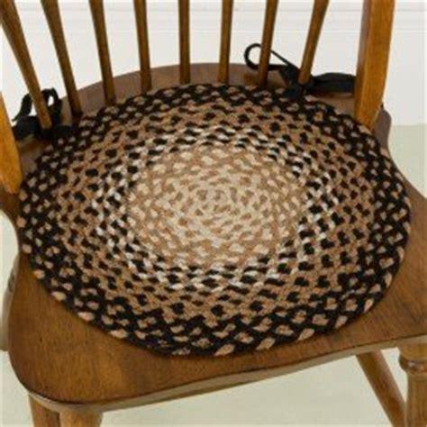 stallion 15 quot braided chair pad braided rugs