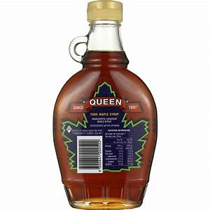 Queen Pure Maple Syrup 250ml | Woolworths