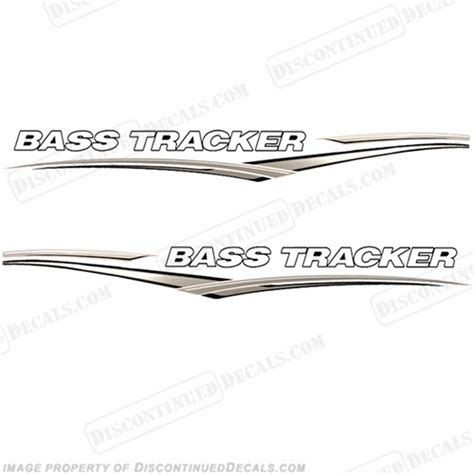 Sea Ray Boats Discontinued by Bass Tracker Boat Graphic Decals Tan