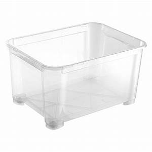 Box Mit Rollen : regalux clear box xxl 145 l mit rollen bauhaus ~ Markanthonyermac.com Haus und Dekorationen