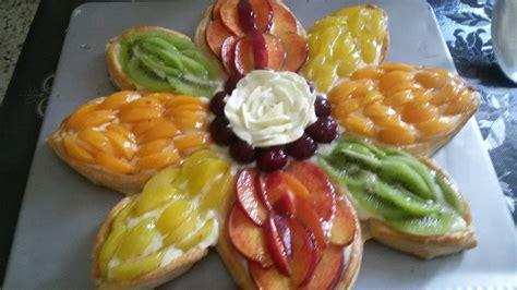 tarte de fruit 224 la p 226 te feuillet 233 e recettes d 233 lices