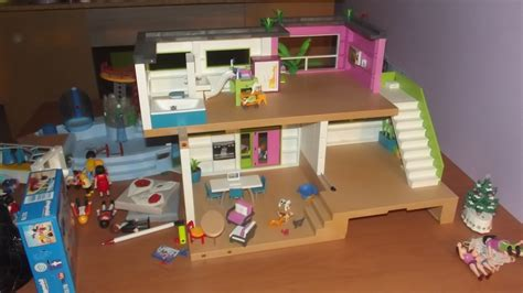 comment bien ranger sa maison moderne playmobile