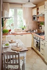 Küche Landhausstil Selber Bauen : einrichtungstipps f r kleine k che 25 tolle ideen und bilder ~ Markanthonyermac.com Haus und Dekorationen