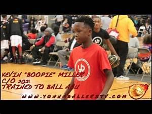 """YoungBallerzTV : Kevin """" Boopie """" Miller c/o 2021 ELITE PG ..."""