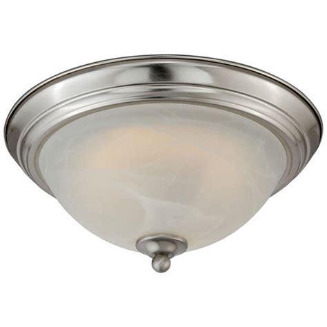 payton 11 quot satin nickel 60 pc led ceiling light at menards 174