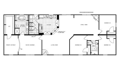 Clayton Mobile Home Floor Plans Photos by Manufactured Home Floor Plan 2010 Clayton Jamestown