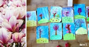 Malen Mit Kindern : malen mit kindern ein bl hender fr hlingsbaum doro kaiser grafik illustration ~ Markanthonyermac.com Haus und Dekorationen