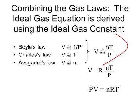 The General Gas Equation Combined Gas Law  Ppt Video