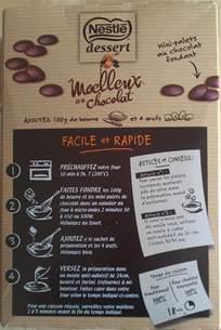 test nouveaut 233 culinaire moelleux au chocolat nestl 233 dessert les regarder grandir