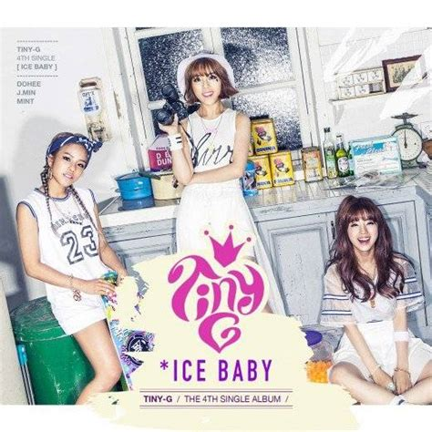 Ice Ice Baby Album Cover by Tiny G Unveil Cover Image For Ice Baby Single Album With