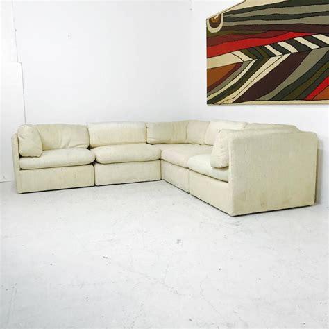 milo baughman modular sectional sofa for thayer coggin at