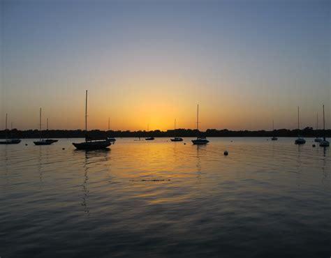 Boat Dock Marina High Rock Lake by Free Images Landscape Sea Horizon Dock Sky Sun