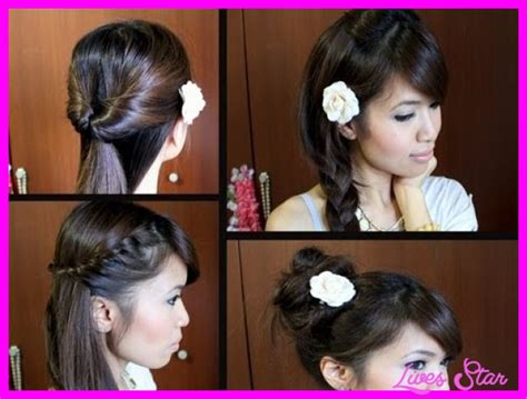 Cute Easy Hairstyles For Long Hair School Step By Elegant Hairstyles Updos Wedding Bob Length Medium Straight Hairstyle For Guys Black During Labor Blue Hair Inspiration Picture Day Zodiac Signs Homecoming Ideas Half Up