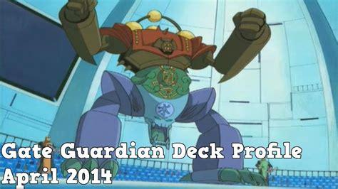 yugioh gate guardian deck profile april 2014