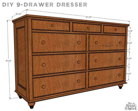 9-drawer Dresser Plans Sub Zero 24 Drawer Refrigerator 10 Extra Deep Tool Chest Dresser Big Lots Side Table With Design Ideas For Painting An Old Of Drawers Tattoo Melbourne 3 Wooden Devon Oak 2 4