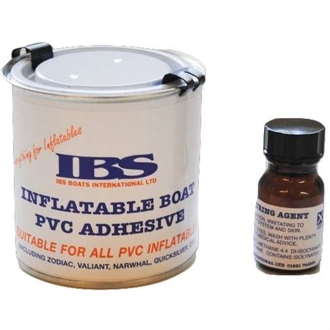Inflatable Boat Adhesive by Ibs Inflatable Boat Adhesive Two Part Pvc 250ml