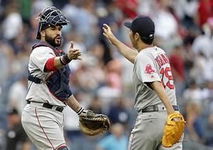 12news.com   Sandy Leon's clutch homer helps Red Sox beat ...