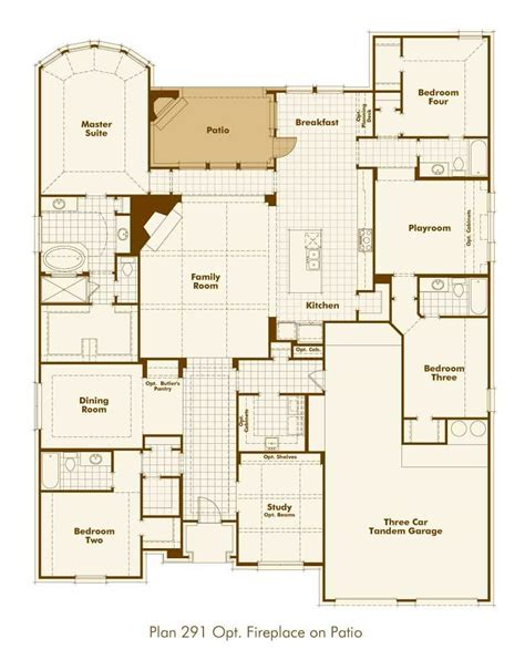 new home plan 291 in prosper tx 75078