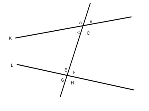 alternate interior angles theorem consecutive interior angles theorem