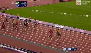Usain Bolt Anchors Jamaica to Victory in the Men's 4x100 ...