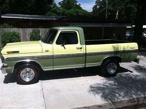 purchase used 1970 ford f 100 ranger shortbed in brandon florida united states for us 12 500 00