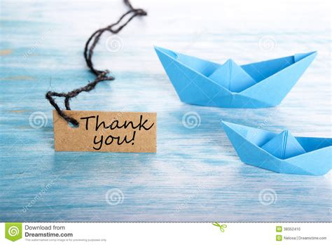 Boat Safety Videos Free by Thank You On A Tag Stock Photo Image 38352410