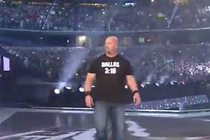 Stone Cold Steve Austin Makes Appearance at WrestleMania ...