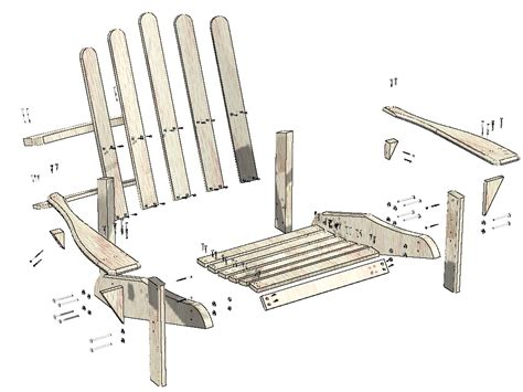 building plans for adirondack chairs house design