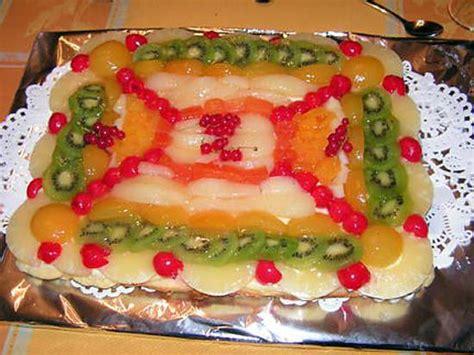 recette de tarte aux fruits frais par kekeli