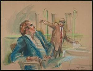Recent Acquisition: Marilyn Church's Courtroom Drawings ...