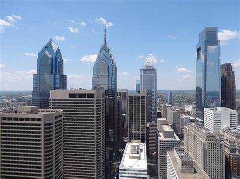 the view from the observation deck picture of city philadelphia tripadvisor