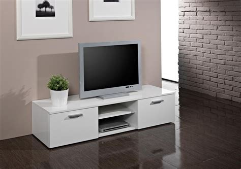meuble tv design laqu 233 blanc snow meuble tv design meuble tv hifi salon